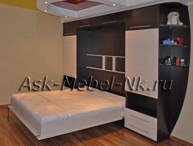 Шкаф-кровать трансформер - АСК-Мебель