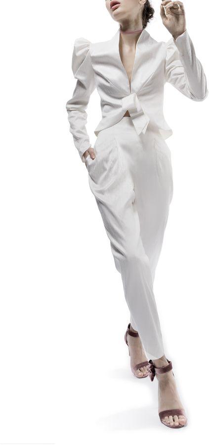Elizabeth Fillmore The Eddy Wedding Suit at Moda Operandi (affiliate link)