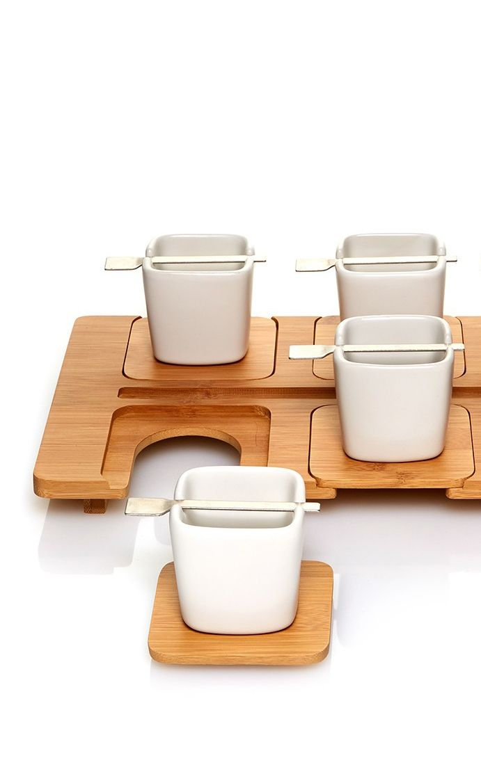 Tea tray - holds 6 cups