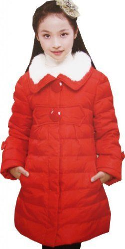 Girls Outerwear Down Coat Warmest Red Faux Fur Collar Size 9-14 Years by Sunny Fashion, http://www.amazon.co.uk/dp/B00FPEUFEW/ref=cm_sw_r_pi_dp_pe3vsb0EW6QPP