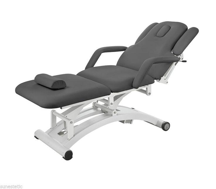 Lettino fisioterapia osteopata 3 motori medicale fisioterapico colore grigio