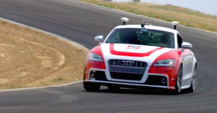 Stanford's autonomous Audi takes to the track not to show off but instead to enhance self-driving car safety.