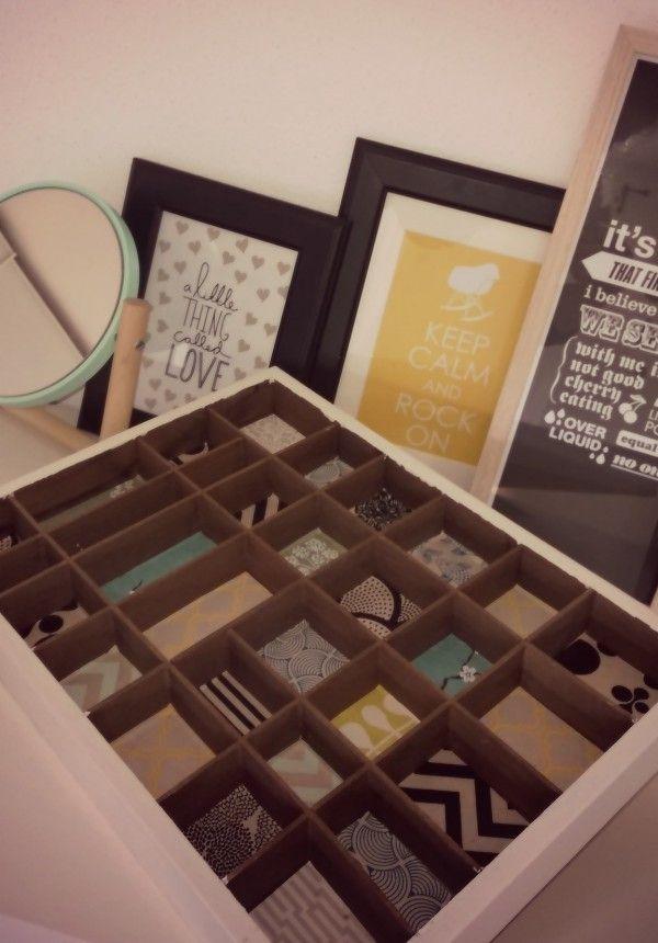 """Platz für die """"Juwelen"""" - Setzkasten-Umgestaltung - Jewellery-Box * Scandinavian style"""