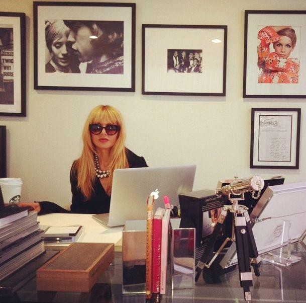 Rachel Zoe Genius Décor Ideas From Instagram: Office Time With Rachel Zoe 2013
