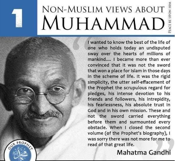 Prominent non muslim view on beloved prophet Muhammad s.a.w