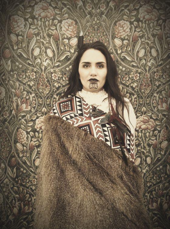 Maori Woman - Aotaeroa