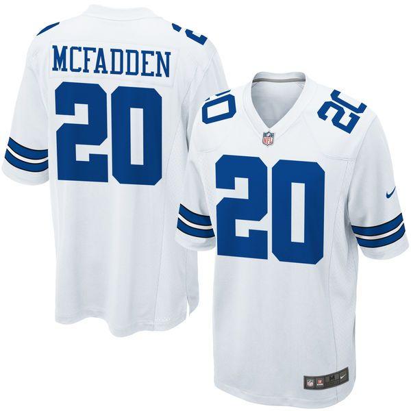 7abcf7503 Dallas Cowboys 20 Mcfadden White 2015 Nike Elite Jerseys
