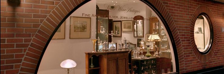 Louis Wine Ltd., Toronto based specialists in Antique Silver, Antique Jewellery and  Decorative Art...