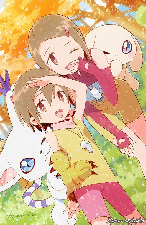 Digimon girls naked reply))) You