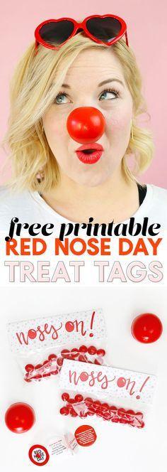 red nose day printab