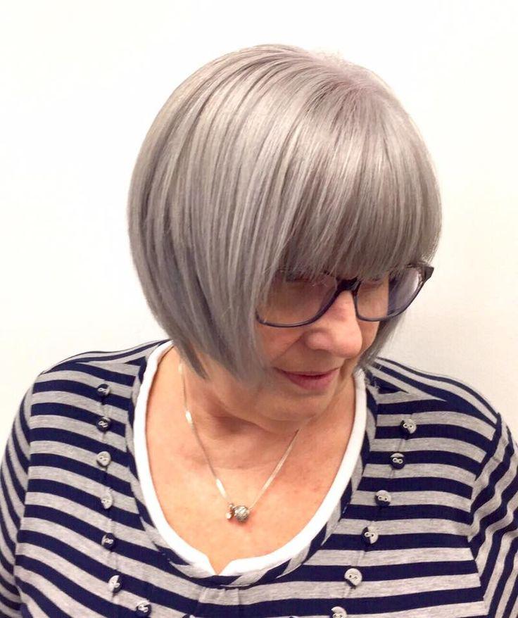 Perfect bob haircut by Christina Phaneuf