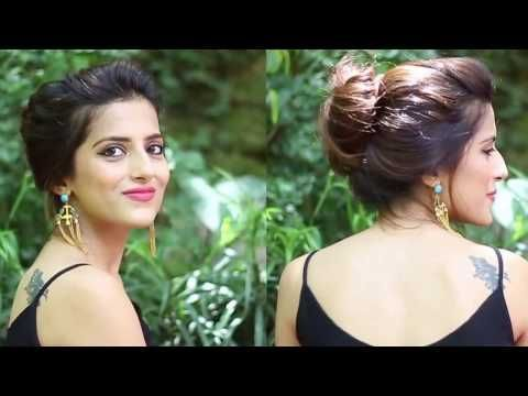 5 Quick and Easy Ponytail Hairstyles For School,College,Work Indian Hairstyles For Medium Long Hair – YouTube