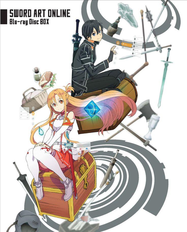 Sword Art Online Box Set Bluray ソードアートオンライン, アート, ソードアート