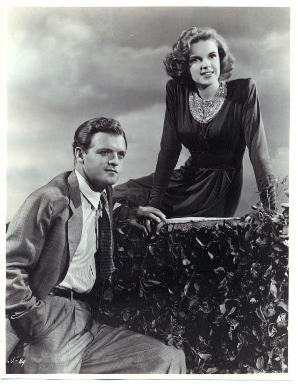 "Judy Garland and Van Heflin ""Presenting Lily Mars"" (1943)"