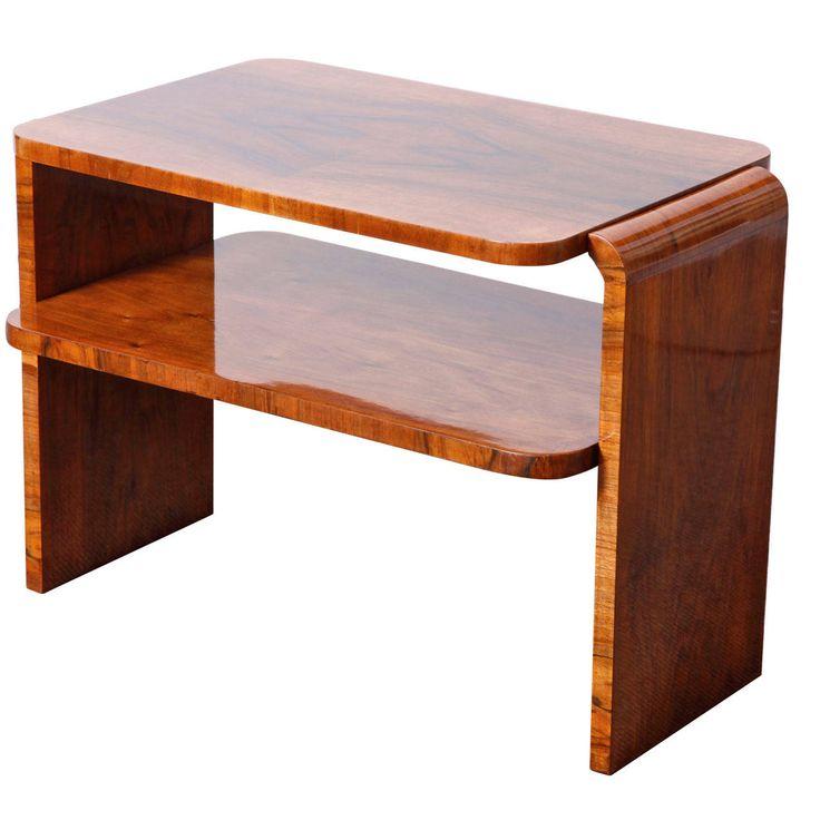 Want Veneered Art Deco Coffee Table