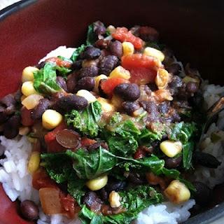 Vegetarian Black Bean Chili | Laurie's Cravings | Pinterest