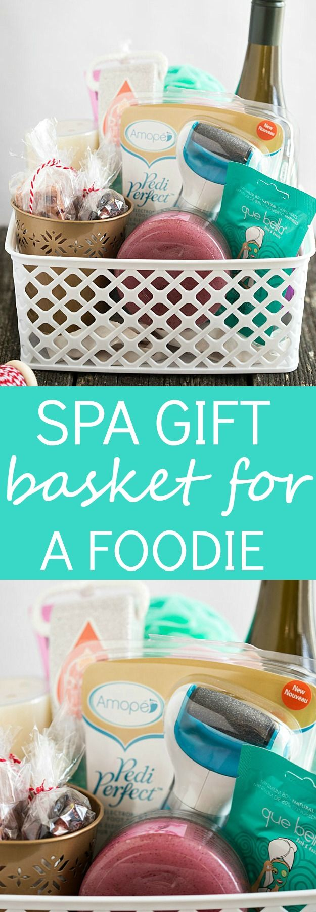Spa Gift Basket Ideas for the Foodie - Give a unique gift this year!