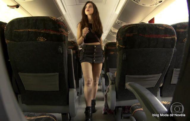 6 fotos do look da Milena dia 11 de novembro na novela Sol Nascente | Moda de Novela