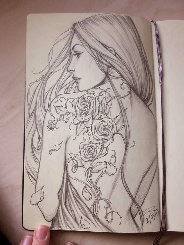 Tattoo idea. Moleskine 9 by ~Sabinerich on deviantART