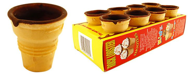 Edible Shooters - Chocolate Lined Wafer Shot Cups