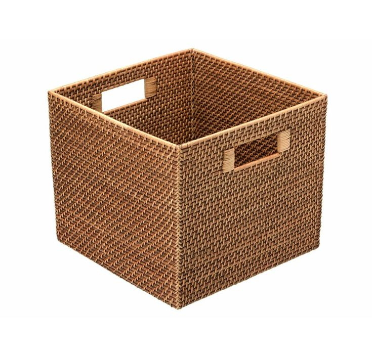 0116d4b1857c8499805dfb857ca3bf01 - Better Homes And Gardens Woven Storage Bin Brown Durable Construction