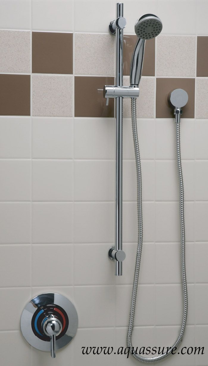 Bathroom and shower accessories - Shower Accessories Installed For A Customer With A Flexible Shower Head Www Aquassure