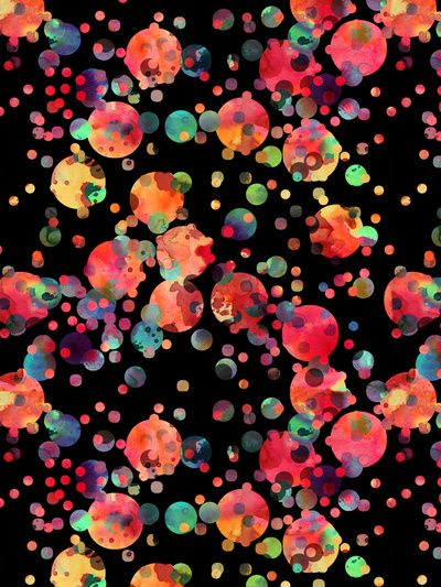 Confetti Art Print by Schatzi Brown