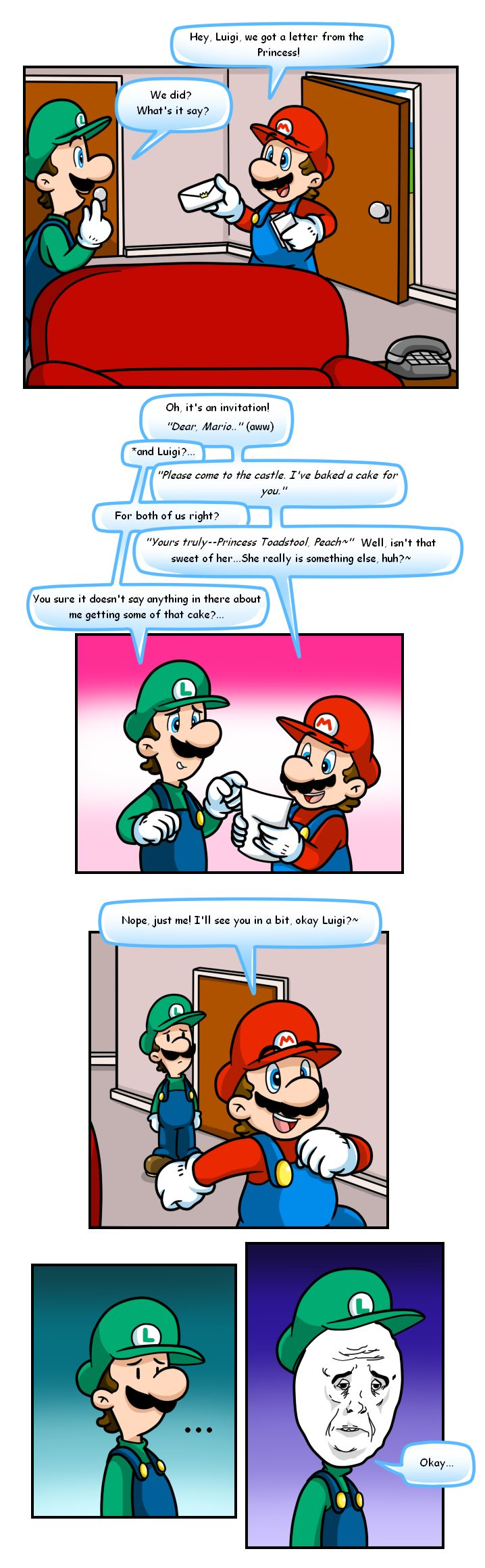 Funny Memes Mario : Mario thing invitation by nintendrawer viantart