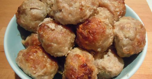 Apple and Pork Meatballs | Paleo For Kids