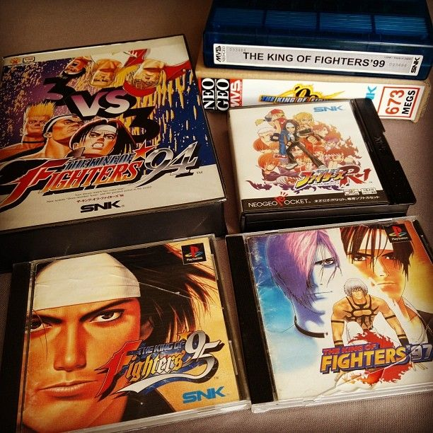 On instagram by freakazoid999 #neogeo #microhobbit (o) http://ift.tt/2doffz8 à Jean-Pierre KOF :p #kof #KingOfFighters #snk  #psx #versus #versusfighting