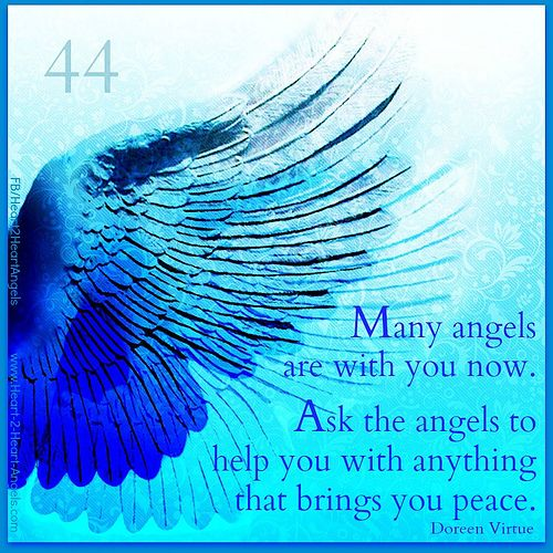 44 - angel numbers ❤️☀️ Angels are with you! Keep asking for help!
