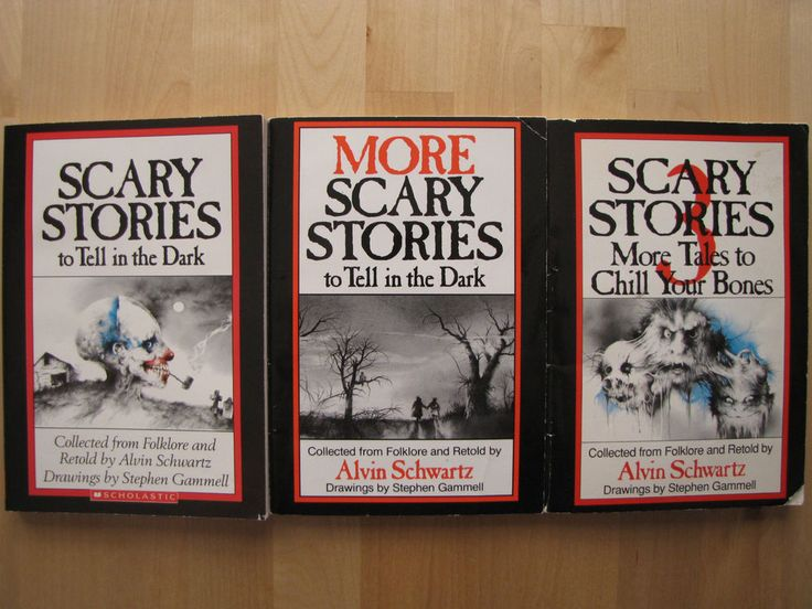 Alvin Schwartz Scary Stories to Tell in the Dark More and Scary Stories 3 Books