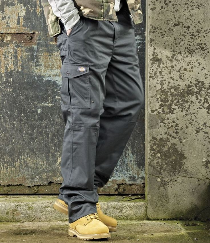 Dickies Redhawk Super Work Trousers Mens Workwear Protective Clothing Cargo