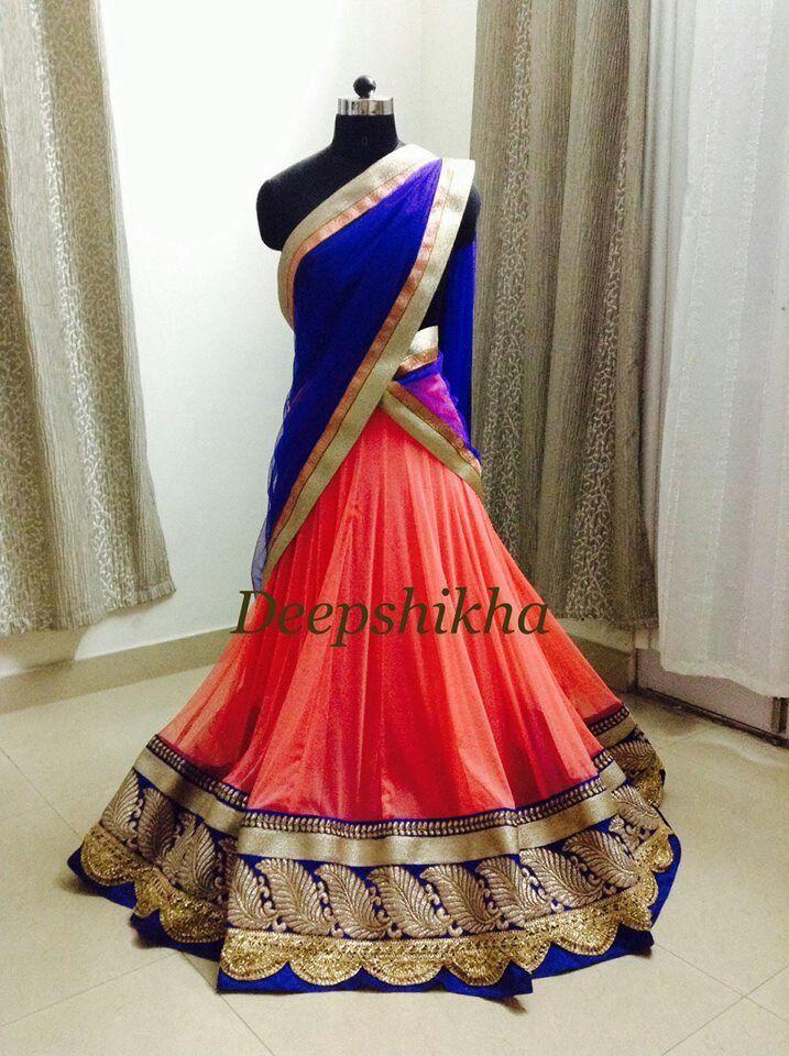 20 besten Half Saree Bilder auf Pinterest | Indien mode ...
