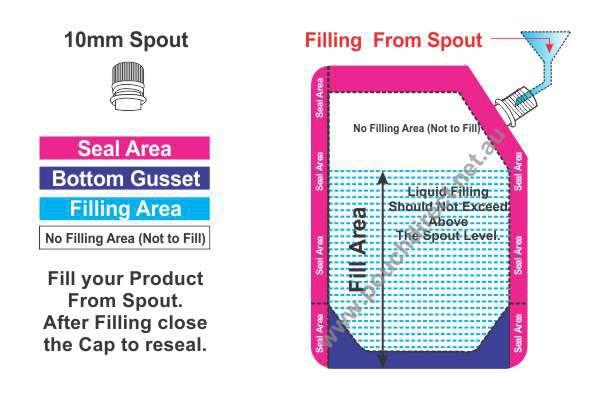 Spout Pouch Measuring 10mm