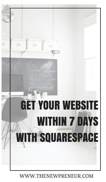 7-Day Email Course For Squarespace  I have created a 7 day email course going into the ins and outs of Squarespace. By the end of the course, you should have your very own Squarespace website.
