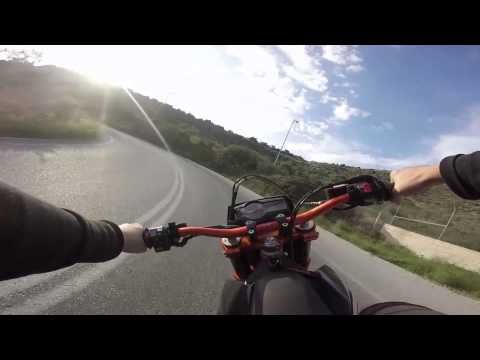 Ktm 690 lost in mountains