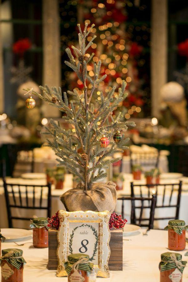 December Wedding Ideas You Need To See Christmas Wedding Centerpieces Winter Wedding Table Wedding Floral Centerpieces