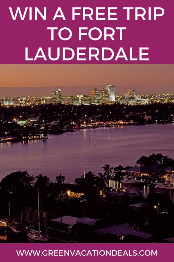 Fort Lauderdale Vacation Ideas - take a free trip to Fort Lauderdale Florida! Find out how to enter the Greater Fort Lauderdale CVB – Winter Escape Giveaway and you could win a Fort Lauderdale trip. Florida Travel Giveaway | Florida Vacation Sweepstakes #FreeTrip #FortLauderdale #Florida #FLVIP #VIP #Beach #VisitFL #VisitFlorida #floridatraveldestinations #floridatravel