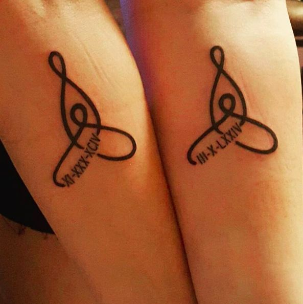 You could find a creative way to remember each other's birthdays.   21 Cool Ideas For Tattoos To Get With Your Mom