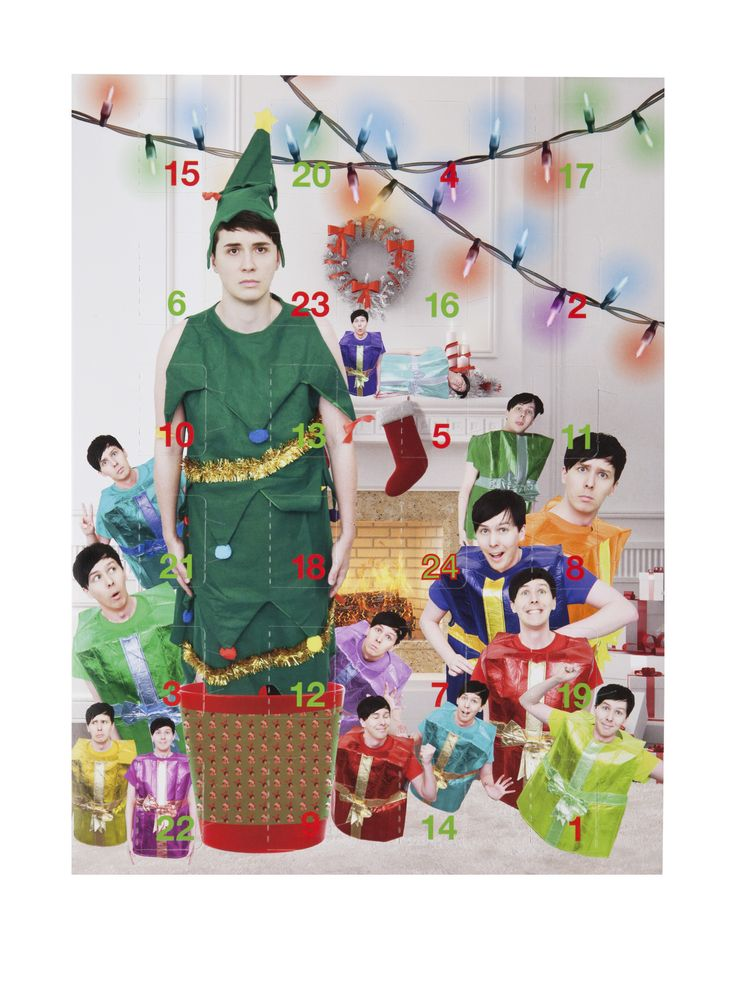 Dan and Phil Advent Calendar 2016 << I'M HOPEFULLY BUYING THIS IS'M SO EXCITED IT'S GONNA COST $30 TO GET TO NZ HAHAHHAHA