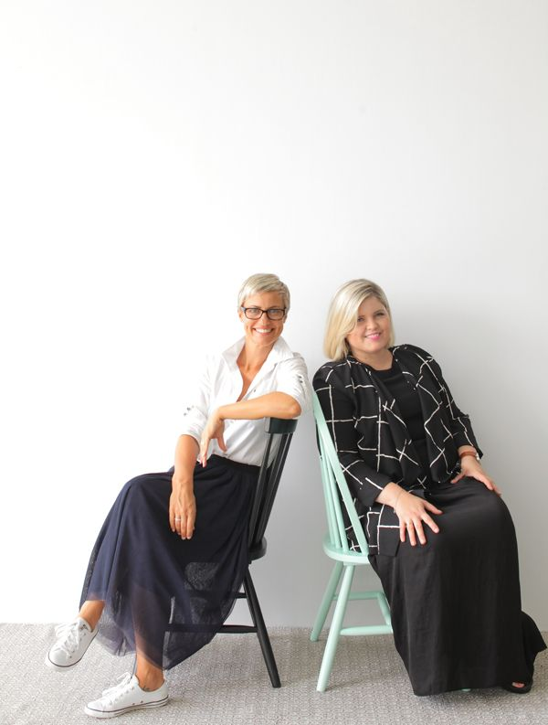 the styling workshops —Simone and Hayley will style up a storm at each workshop at Domayne