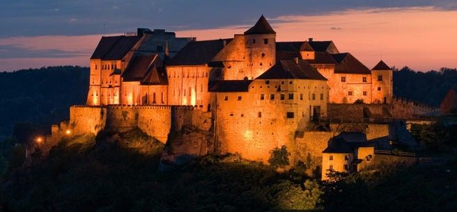 Salzach, Burghausen Castle (Longest castle in the world (1,051m)