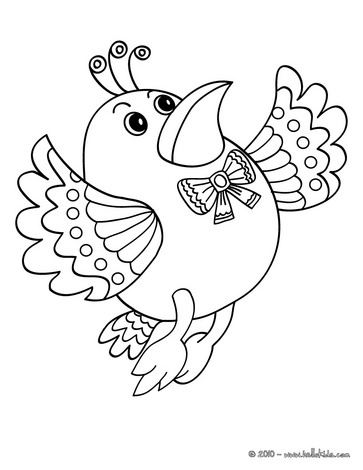 Flying Bird Coloring Page You Will Love To Color A Nice Enjoy This For Free The Hellokids Members Who