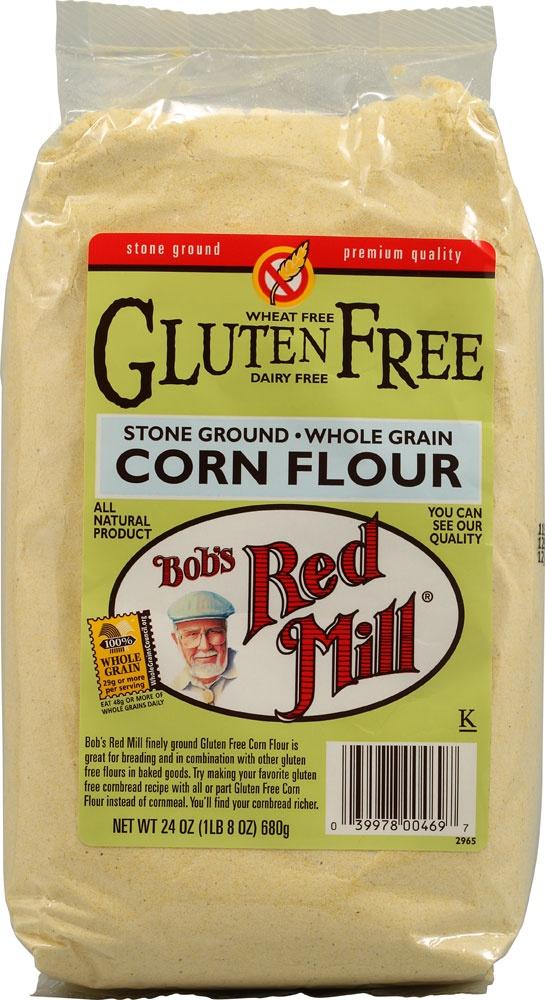 Gluten in cornflour