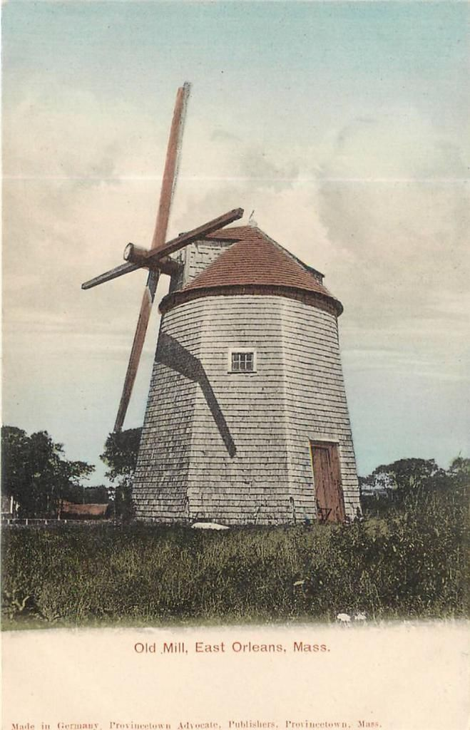 Windmill Cape Cod Part - 32: EAST ORLEANS MA Old Mill Windmill Hand-Colored Vintage UDB Postcard Ca 1907  | EBay. Cape CodVintage ...