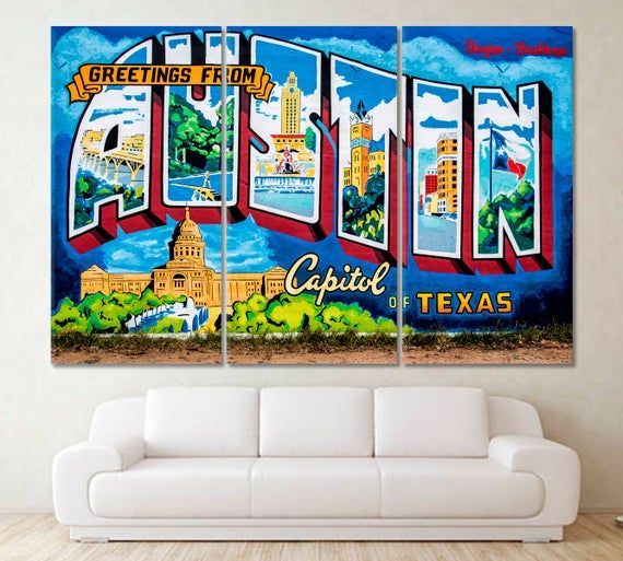 Austin Wall Mural Roadhouse Relics Store Mural Welcome Art Welcome Canvas Greetings From Austin Capital Of Texas Welcome To Austin In 2020 With Images Mural Wall Murals Hollywood Wall Art