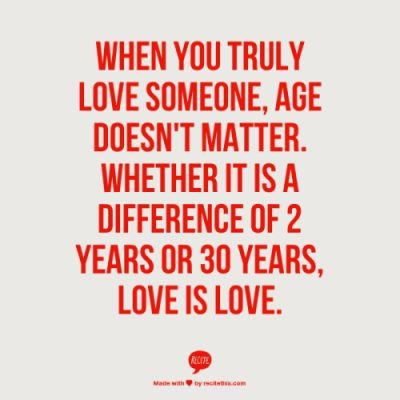 Relationship Advice - Age Difference in Relationships