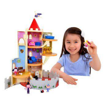 Pequeño Reino de Ben y Holly - Set de juego pequeño castillo mágico con 4 figuras y varita mágica: Amazon.es: Juguetes y juegos 35,76