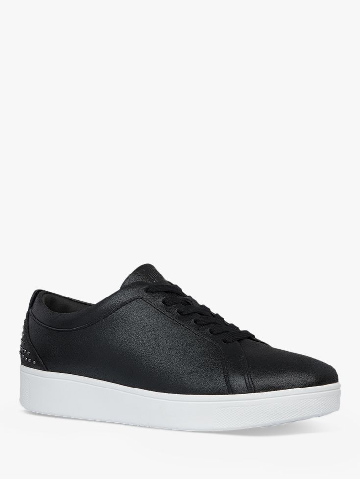 FitFlop Rally Lace Up Stud Trainers